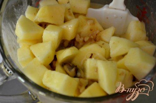 Яблочный брауни