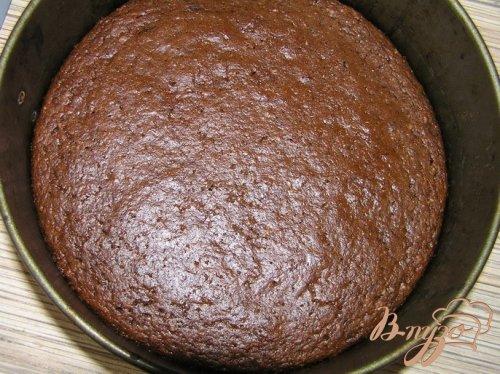 Шоколадный кокосово-томатный торт