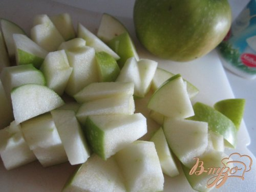 Смузи яблочный с кленовым сиропом