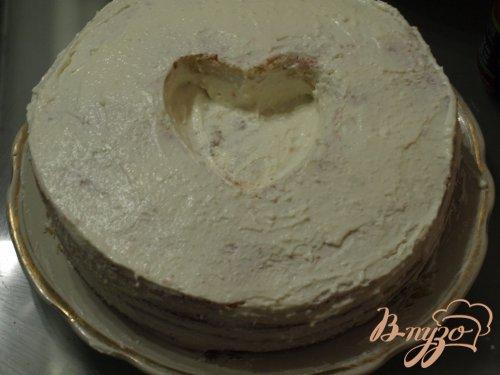 """Торт """"Сердце для любимого"""""""