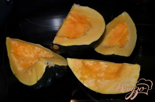 Акорн тыква с апельсиновой глазурью