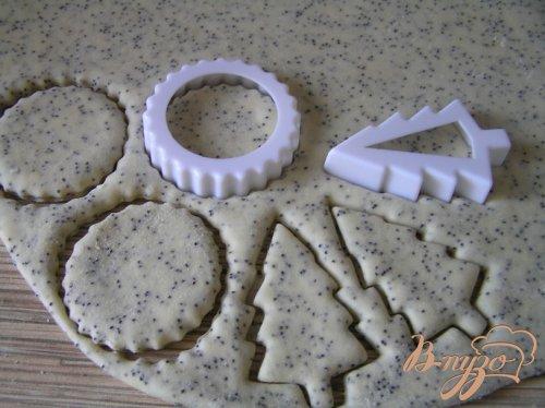 Постное печенье с маком