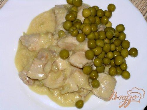 Куриные грудки в пивно-сливочном соусе