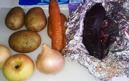Сельдь с овошами
