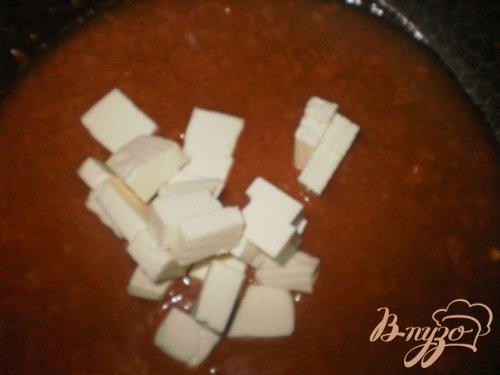 Мини-фрикадельки в томатно-сырном соусе