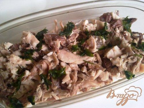 холодец из свинины и курицы и говядины рецепт #14