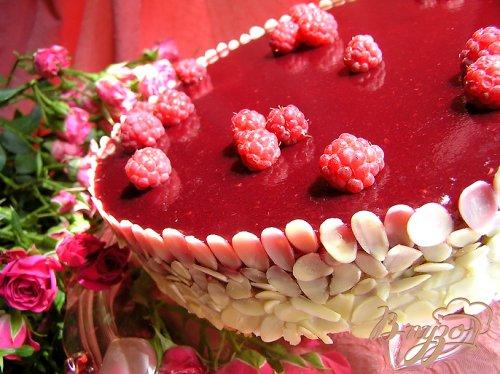 Смородиновый торт с кокосовым кремом