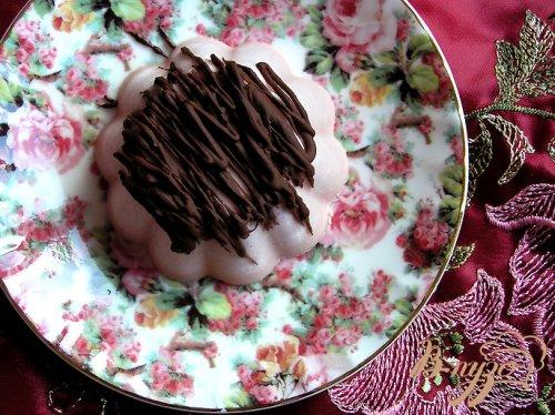 Десерт-крем Розовый забайоне