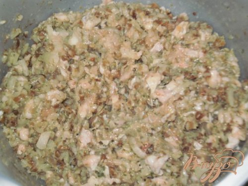 Гречнево-мясные тефтели