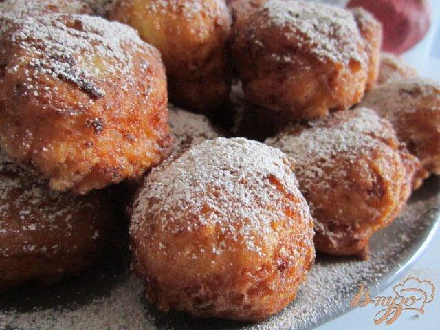 Фото приготовление рецепта: Польские пончики