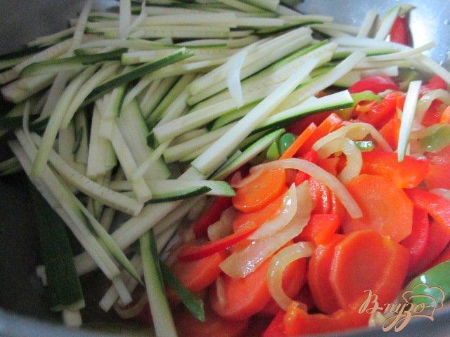 Фото приготовление рецепта: Легкий овощной суп шаг №3