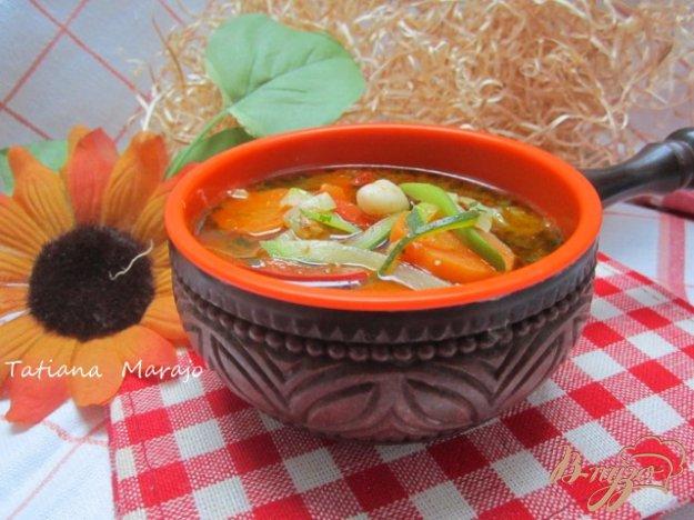 Рецепт Легкий овощной суп
