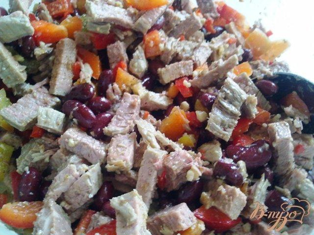 Фото приготовление рецепта: Говядина с овощами в желе шаг №5