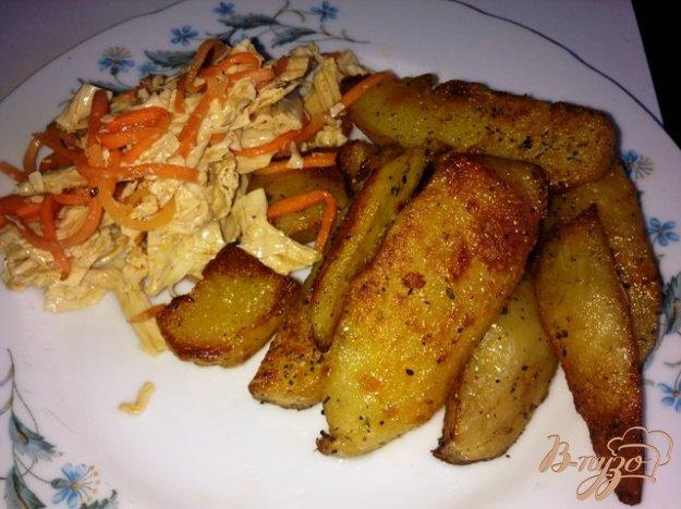 Рецепт Картофельные ломтики