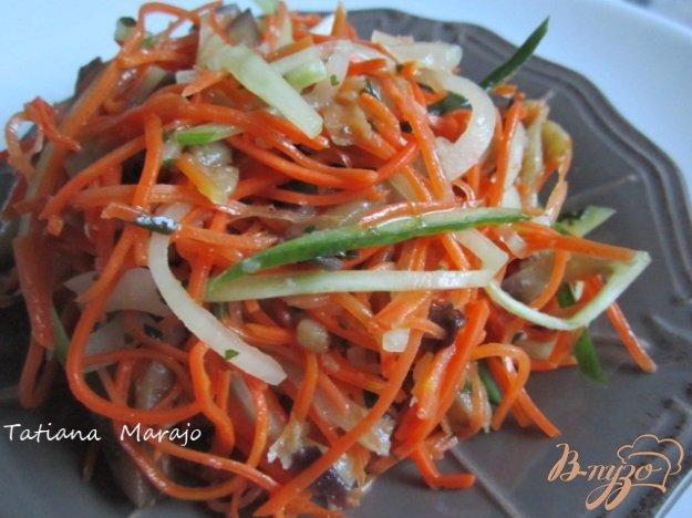 Овочевий салат з баклажанами. Як приготувати з фото