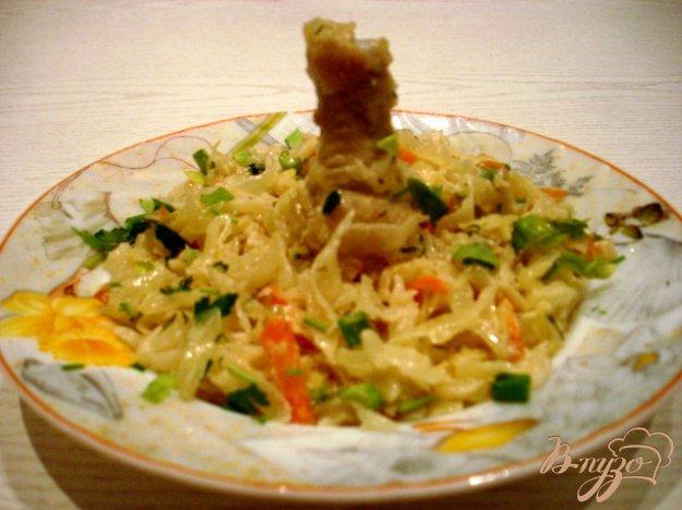 Рецепт Капуста тушёная со сметаной