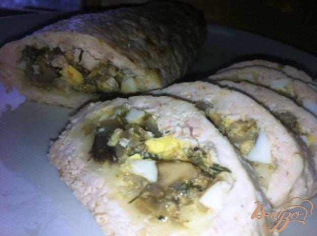 Рецепт Колбаски куриные с начинкой