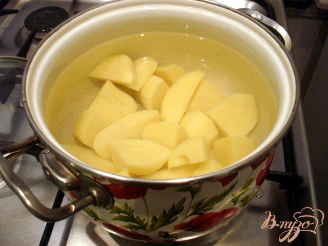 Фото приготовление рецепта: Щи на грибном бульоне шаг №2
