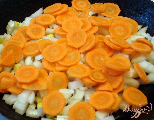 Фото приготовление рецепта: Щи на грибном бульоне шаг №3