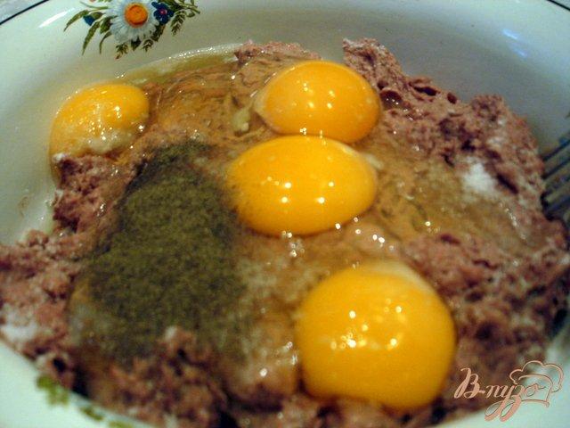 Фото приготовление рецепта: Паштет печёночный запеченный шаг №3