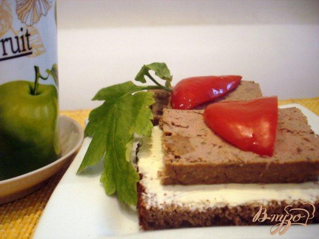 фото рецепта: Паштет печёночный запеченный