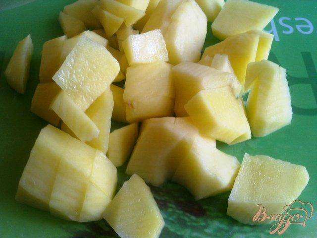 Фото приготовление рецепта: Суп-пюре из тыквы с сельдереем. шаг №4