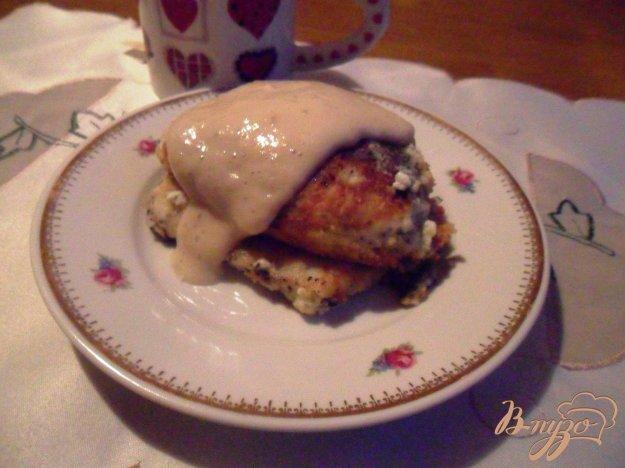 Рецепт Маковые сырники с банановым соусом