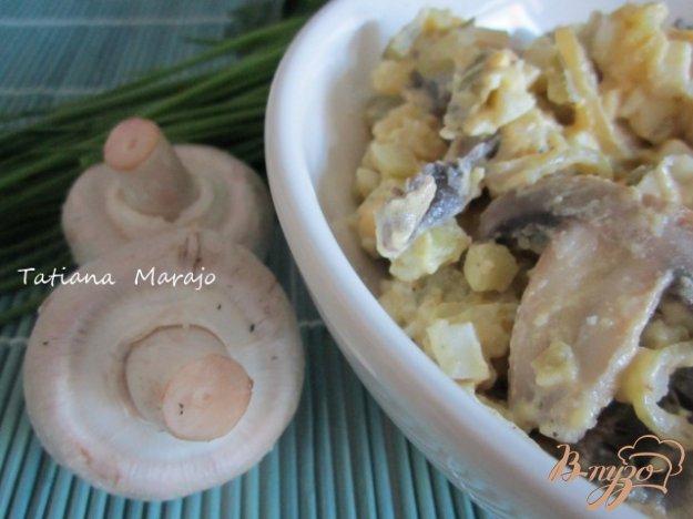 Рецепт Картофельный салат с грибами
