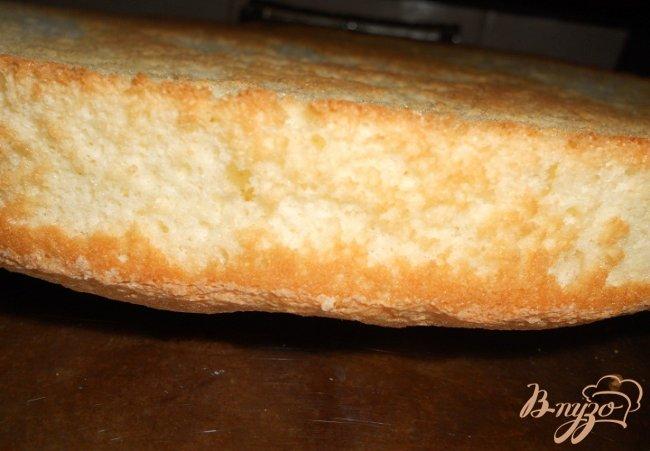 Фото приготовление рецепта: Торт-мороженое Мильфей *Семифреддо* шаг №3