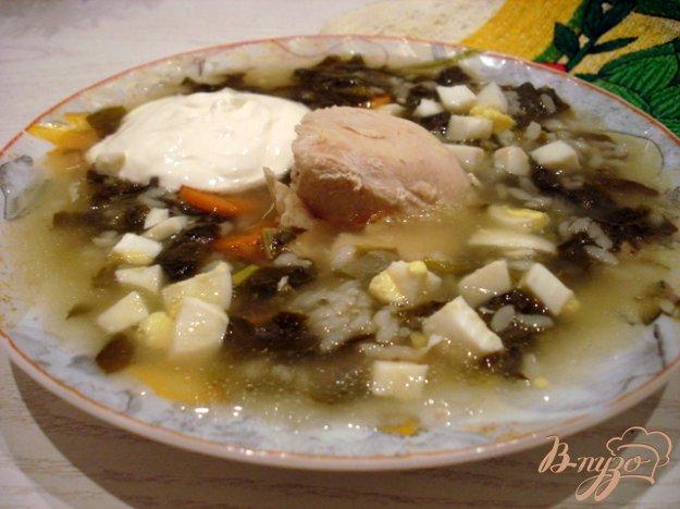 фото рецепта: Суп со щавелем