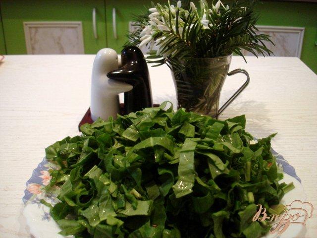 Фото приготовление рецепта: Суп со щавелем шаг №5