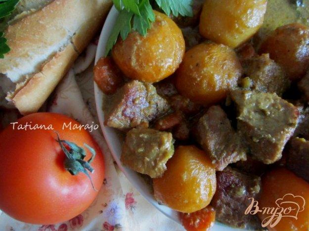 Рецепт Свинина тушеная с овощами