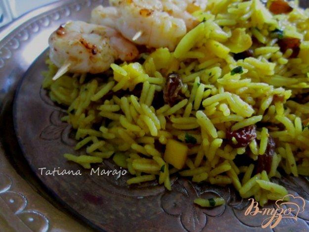 Рецепт Рис по-индийски