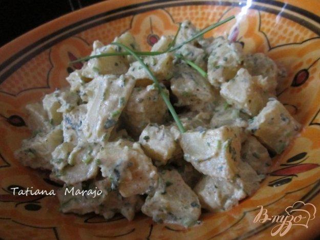 фото рецепта: Теплый картофельный салат