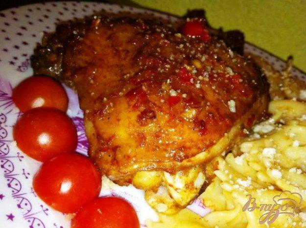 Рецепт Куриные бедра в остром маринаде