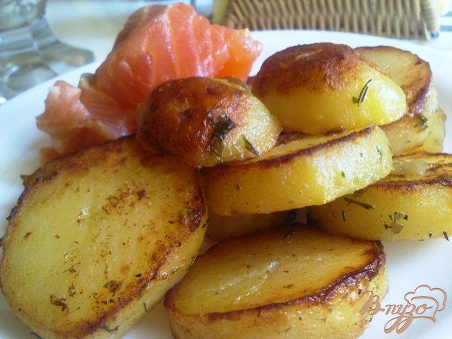 Фото приготовление рецепта: Картофель на гарнир шаг №9