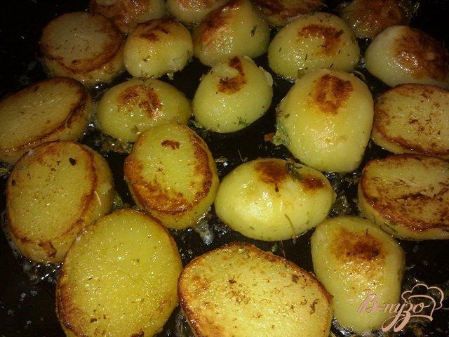 Фото приготовление рецепта: Картофель на гарнир шаг №8