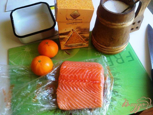 Фото приготовление рецепта: Семга слабосоленая. шаг №1
