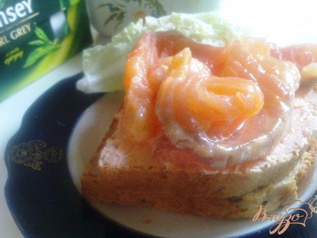 Фото приготовление рецепта: Семга слабосоленая. шаг №7