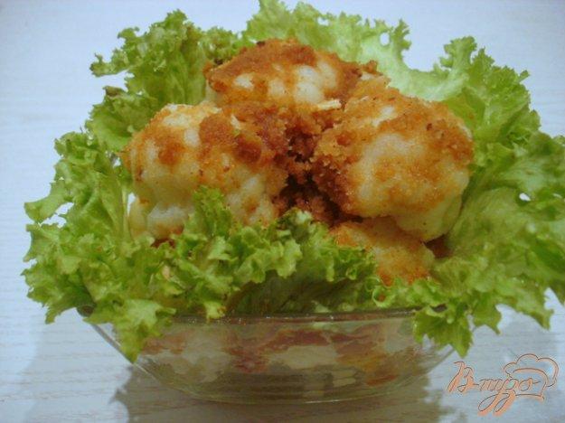 Рецепт Цветная капуста в сухарях