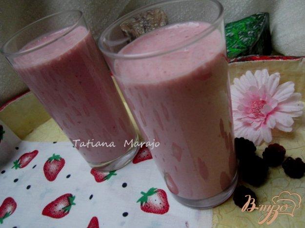 фото рецепта: Фруктово-ягодный коктейль