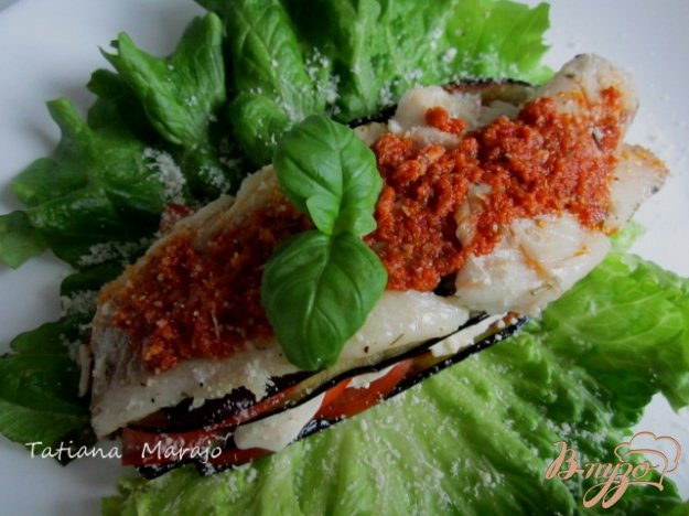 Рецепт Филе скумбрии с овощами