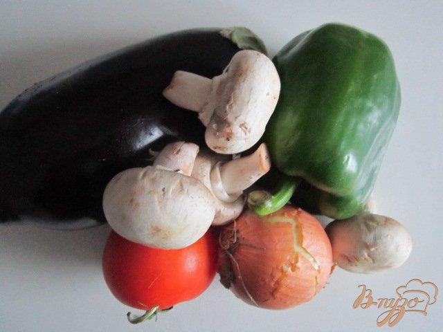 Фото приготовление рецепта: Овощные каннеллони шаг №1