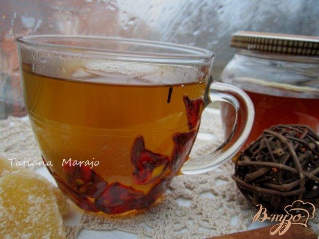 фото рецепта: Имбирный чай с медом