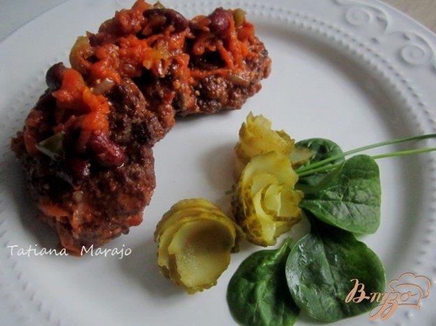 фото рецепта: Котлетки с овощным соусом