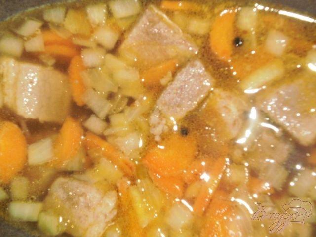 Фото приготовление рецепта: Жаркое из свинины с картофелем шаг №5
