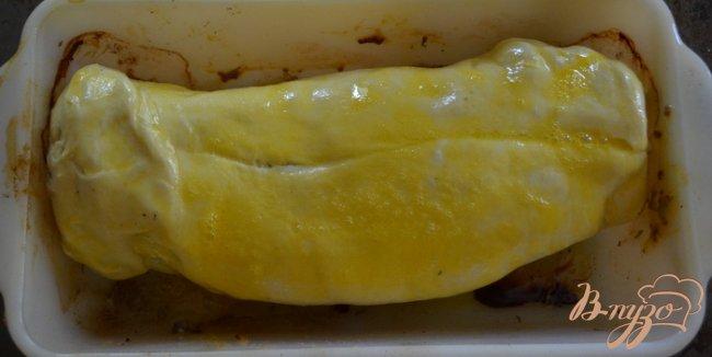 Фото приготовление рецепта: Свинина в слоеном тесте шаг №4