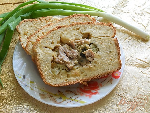 Фото приготовление рецепта: Мясной пирог шаг №4