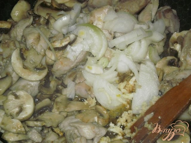 картошка с мясом и шампиньонами в духовке рецепт все вперемешку