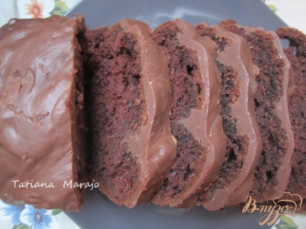 Рецепт Шоколадный кекс с имбирными цукатами